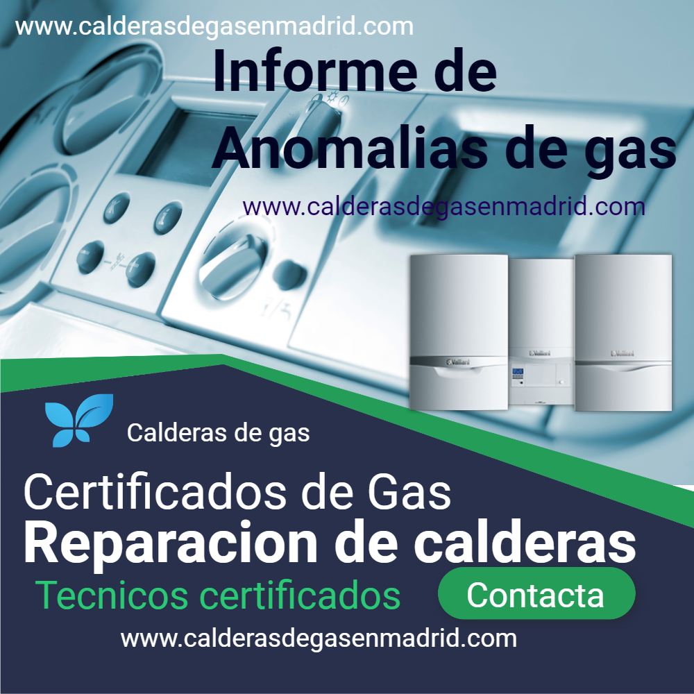 correccion de anomalias de gas natural